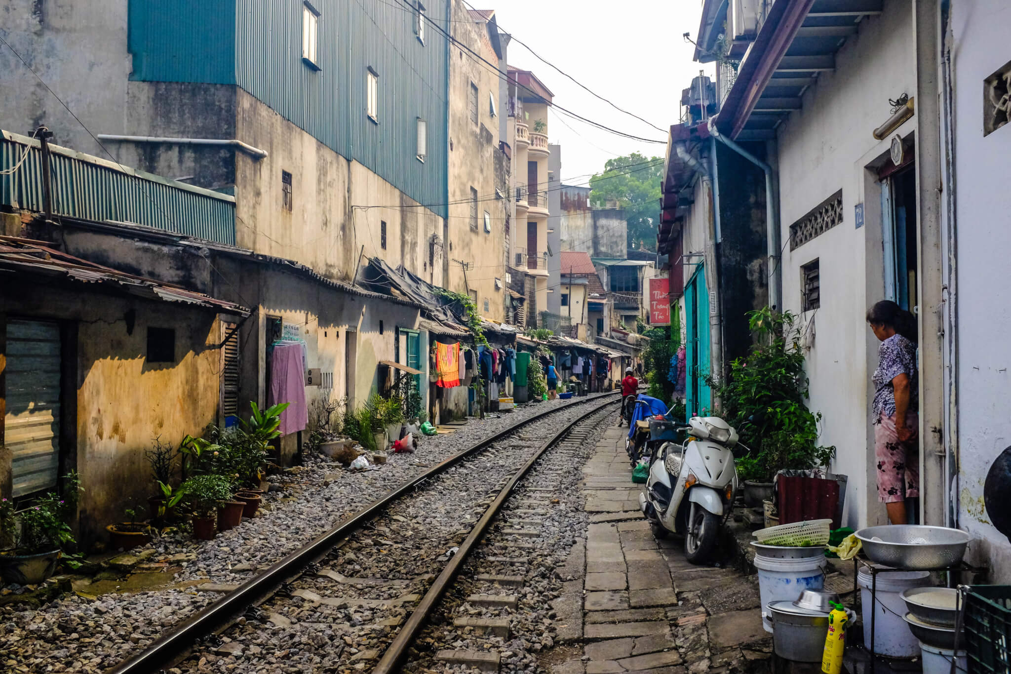 Experience Hanoi Train Street - urban phenomenon in the Vietnamese capital